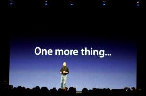 Jobs keynote